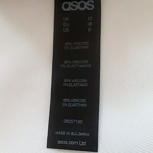 ASOS Other - ASOS body suit high cut long sleeves size 6